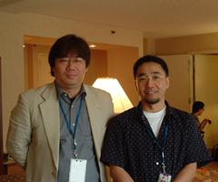 Interview with Kanemori Yoshinori and Kawamoto Toshihiro, Otakon 2005