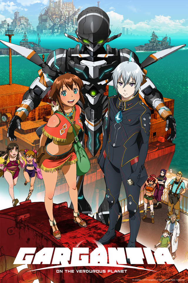 Gargantia on the Verduous Planet: First Impressions by Miki