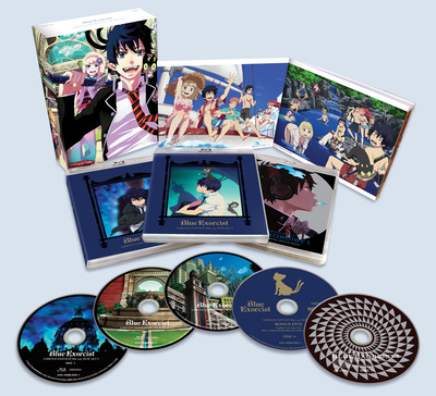 Aniplex of America set to Release Blue Exorcist in a Limited Edition Blu-Ray and DVD