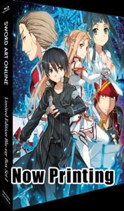 Aniplex to Release Sword Art Online in a Limited Edition Blu-ray and DVD Sets