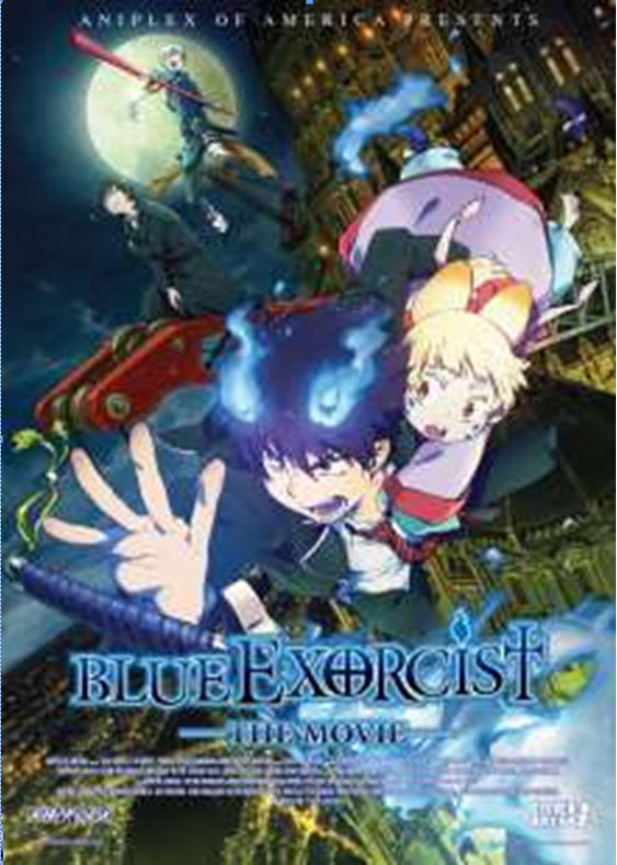 Aniplex Release: Blue Exorcist Movie Coming to Theaters in US August 17, 2013