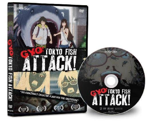 Aniplex of America to GYO:Tokyo Fish Attack! on DVD