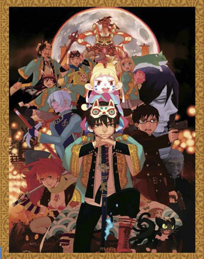 Aniplex of America Releasing Blue Exorcist The Movie on Limited Edition Blu-ray and DVD