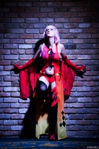 Jenny Theriot as Inori Yuzuriha from Guilty Crown