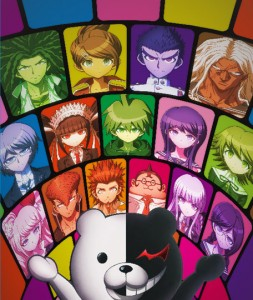 Danganronpa The Animation poster