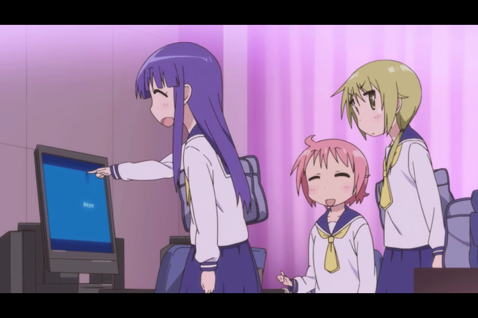 Yuyushiki: Final Review by Miki