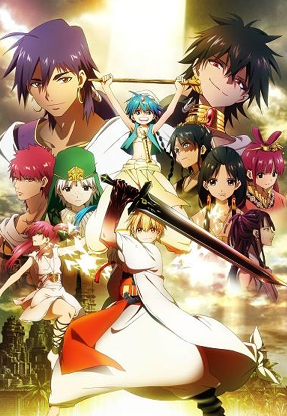 Aniplex to Release Magi: The Labyrinth of Magic on DVD Sets