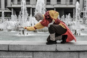 AnimeSecrets Halloween Cosplay Contest 2013 - Entry 04 - Aang from Avatar