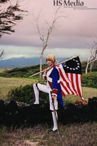 AnimeSecrets Halloween Cosplay Contest 2013 - Entry 06 - America from Axis Powers Hetalia