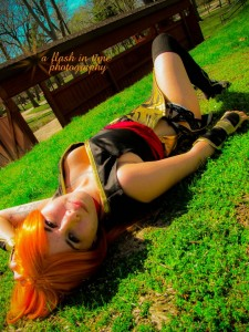 AnimeSecrets Halloween Cosplay Contest 2013 - Entry 11 - Kasumi from Dead or Alive