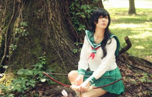 AnimeSecrets Halloween Cosplay Contest 2013 - Entry 18 - Kagome from Inuyasha