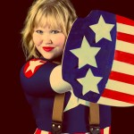 AnimeSecrets Halloween Cosplay Contest 2013 - Entry 29 - Femme Captain America