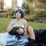 AnimeSecrets Halloween Cosplay Contest 2013 - Entry 46 - Princess Mercury & Princess Pluto from Sailormoon