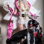 AnimeSecrets Halloween Cosplay Contest 2013 - Entry 49 - Angewoman and LadyDevimon from Digimon Adventure