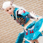 AnimeSecrets Halloween Cosplay Contest 2013 - Entry 53 - Zinogre Armor from Monster Hunter Portable 3rd