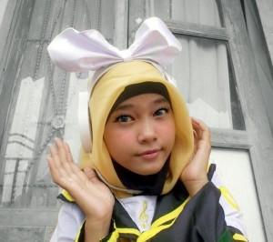 Rin Kagamine Hijab Version