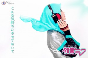 Hatsune Miku Hijab Version