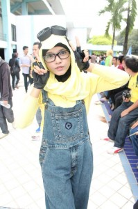 Minion from Despicable Me Hijab Version