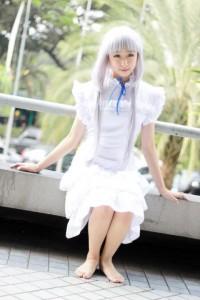 anohana chiyo cosplayer