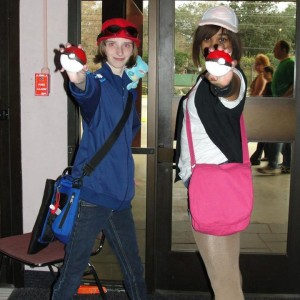 Pokemon Trainer X with Meagan as Pokemon Trainer White