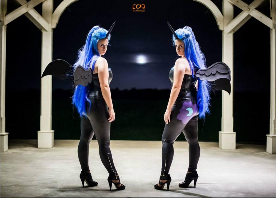 Nightmare Moon Cosplay Wings Original nightmare moon design Zero Nightmare Before Christmas Pictures