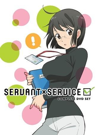 Aniplex to Release SERVANT×SERVICE in a Complete DVD Set
