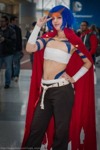 Female Kamina from Tengon Toppa Gurren Lagaan Photograph by Bryan Lee Cruz