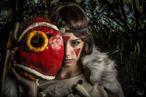 San from Princess Mononoke 2 Photograph by  A.G. Vask