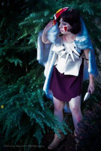 San from Princess Mononoke Photograph by Dancing Squirrel Photography