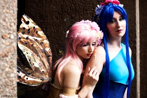 Aureum and Lily Faeries Photograph Joseph Lin