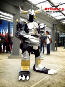 Black Wargreymon from Digimon Adventure 2 Photograph by Gabriel Jimenez & Fabian Gutierrez