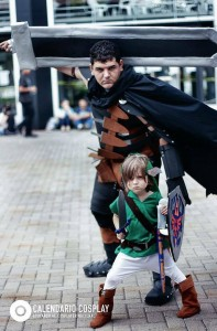 Link from Zelda and Guts from Berserk Photography: