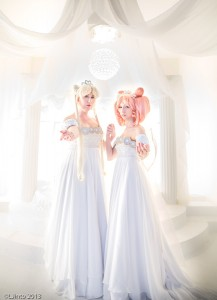Sailor Moon and Chibiusa from Sailor Moon Photography by LJinto