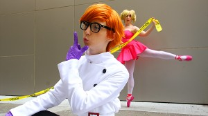 Dexter and Deedee from Dexter's Laboratory