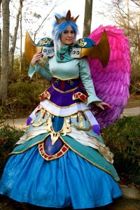Shamanized Nina from Breath of Fire II