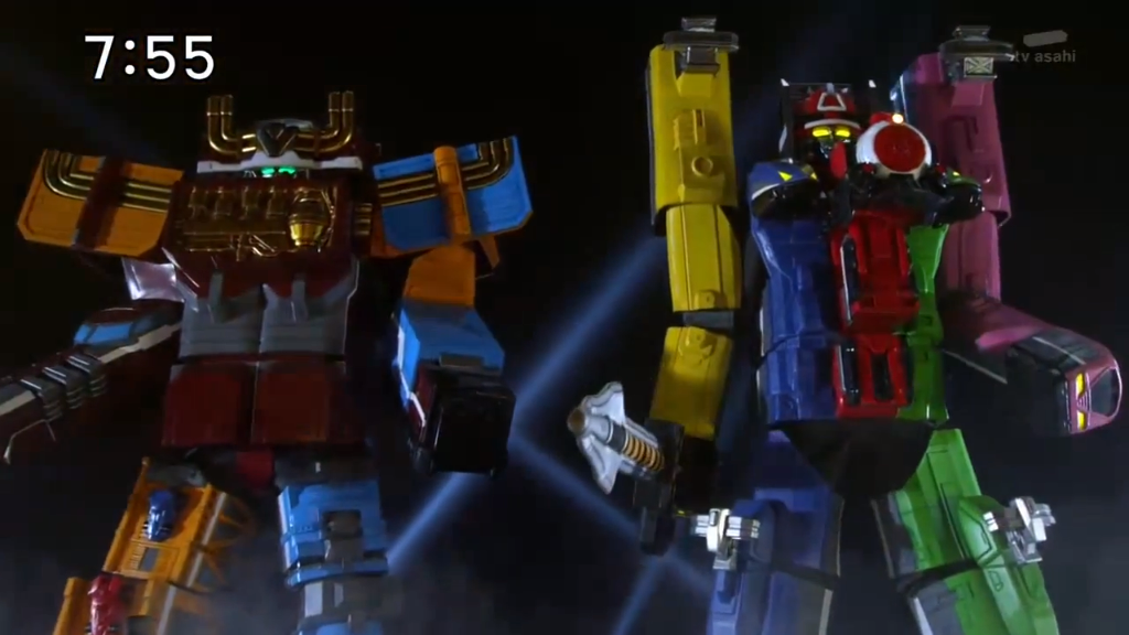 Ressha Sentai ToQger: Episode 08-10 Review