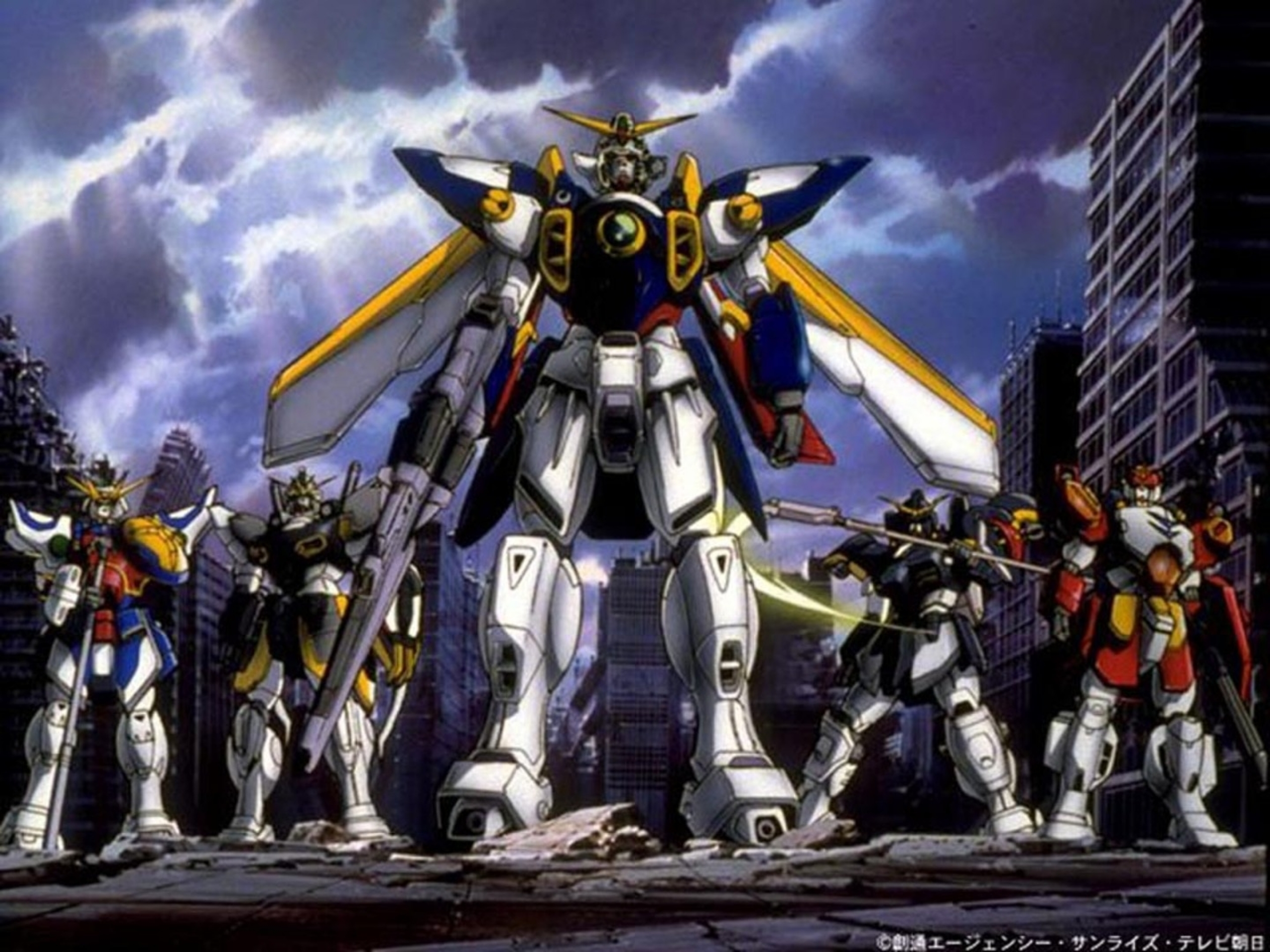 Mobile Suit Gundam Wing by Rizwan Merchant