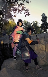 Kisuke & Momohime from Muramasa The Demon Blade Photograph by Jessie Proudmore