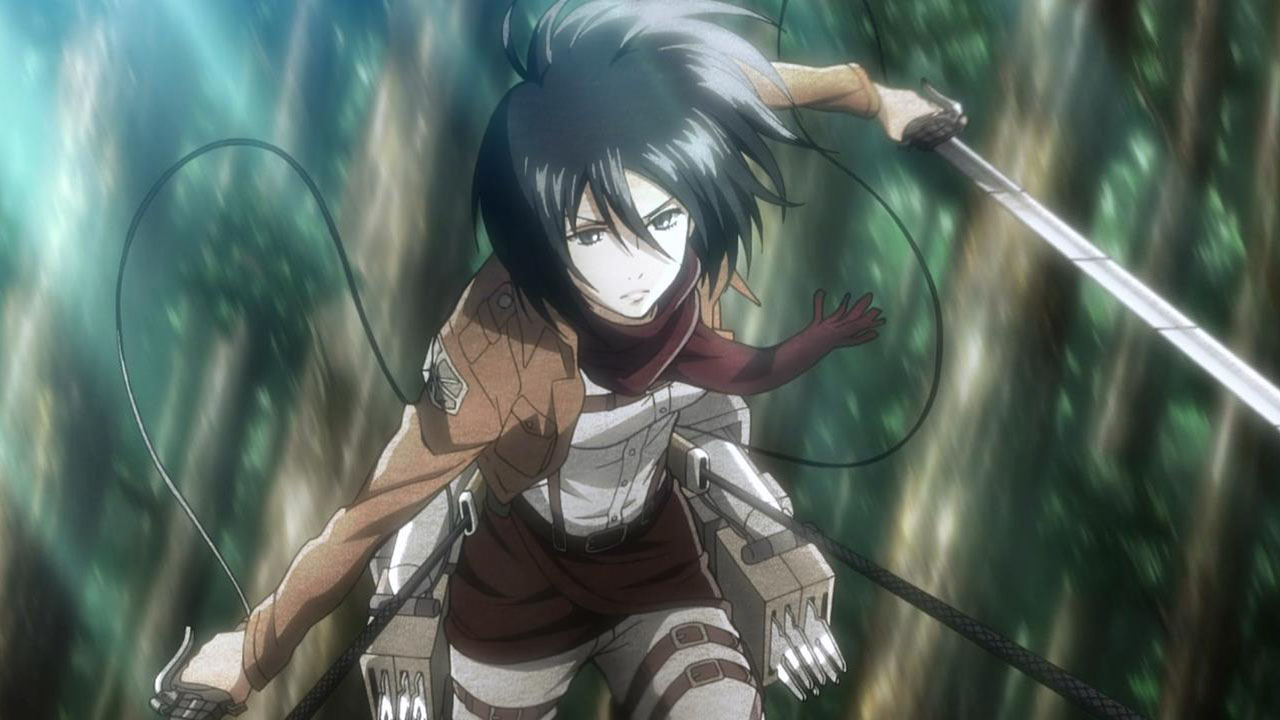 Attack on Titan: Mikasa Ackerman is Not a Feminist Heroine