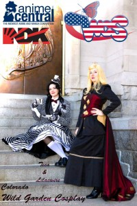 Wild Garden Cosplay (comprised of Lilacwire & Teca)  from Colorado, Wild Card Team of the Nan Desu Kan 2013 Mountain Qualifier