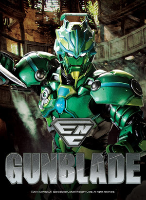 'GUNBLADE,' New TV Action Drama featuring Superheroes Debuts at 2014 Licensing Expo