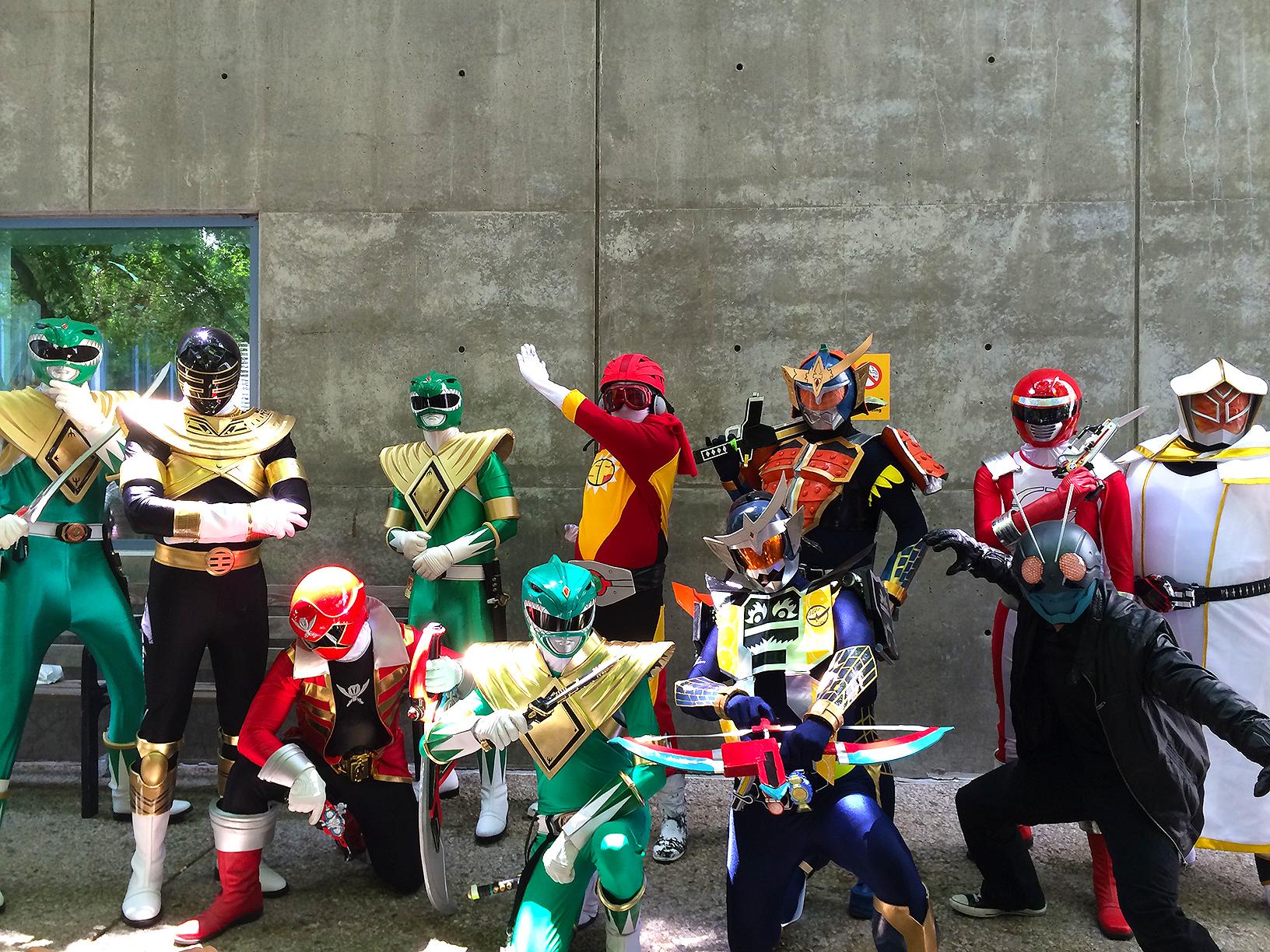 Tokusatsu at FanimeCon 2014