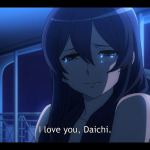 Hana launches the Daichi ship on an ocean of tears.