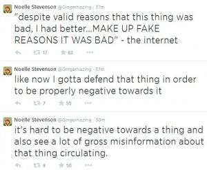 Relevant Noelle Stevenson Tweets