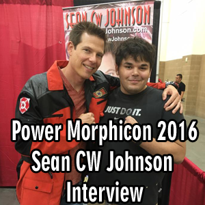 Sean Cw Johnson Exclusive Interview, Power Morphicon 2016