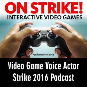 Anime Declassified Podcast – Mission 21 – Video Game Voice Actors on Strike 2016!