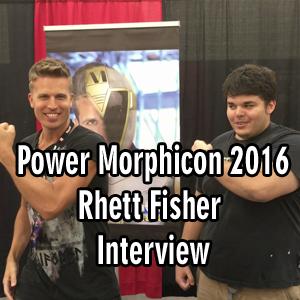 Rhett Fisher Exclusive Interview, Power Morphicon 2016