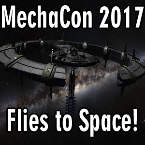 MechaCon 2017 Flies to Space!