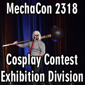 MechaCon 2318: Cosplay Contest Exhibition Division
