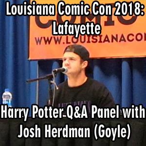 Louisiana Comic Con 2018: Lafayette – Harry Potter Panel